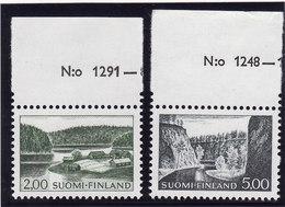 Finlande 1963/72 Cat. Yvert N° 548/49 ** - Finland