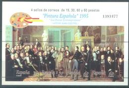 SPAIN - MNH/** - 1995 - SPANISH PAINTS - Yv BLOC 67 - Lot 17451 - Blocchi & Foglietti