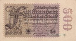Reichsbanknote 1923 - [ 3] 1918-1933 : Weimar Republic