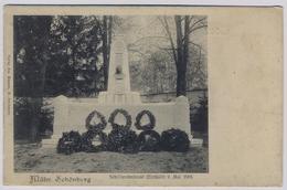 Šumperk Mährisch Schönberg Reg. Olmütz  About 1910y. Schillerdenkmal   E236 - Repubblica Ceca
