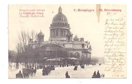 RU 190000 SANKT PETERSBURG, Le Cathedral D'Isaac, 1905, Schlitten - Russland