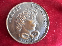 FRANCE-- MARIE LAURENCIN ( 1883-1956)- GRAND BRONZE - Royal / Of Nobility