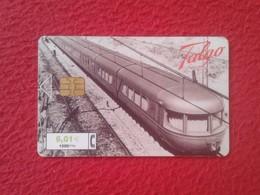 ANTIGUA TARJETA TELEFÓNICA PHONE CARD ESPAÑA SPAIN ESPAGNE TALGO TREN TRAIN TRENES FERROCARRILES FERROCARRIL VER FOTO/S - Espagne