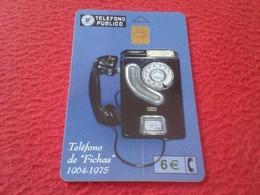 ANTIGUA TARJETA TELEFÓNICA PHONE CARD ESPAÑA SPAIN ESPAGNE TELÉFONO PÚBLICO DE FICHAS TELEFÓNICAS..TOKENS VER FOTO/S Y D - Espagne