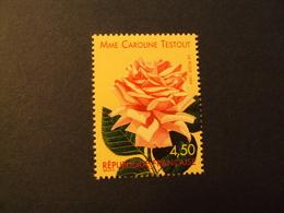 "1990-Timbre Neuf N°  3250  - ROSES ANCIENNES   ""   C.TESTOUD   ""  Côte    3    Net        1 - Unused Stamps"