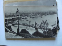 Hongarije Ungarn Magyar Budapest With Bridge And Part Of The City - Hongarije