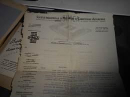 108 -  Document SIMCA , Nanterre, Achat Du SIMCA - Voitures