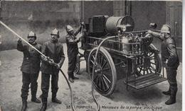 Les Sapeurs-pompiers - St-Jans-Molenbeek - Molenbeek-St-Jean