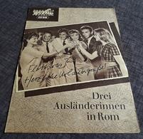 """Altes Progress-Filmprogramm - CLAUDIA CARDINALE In """"Drei Ausländerinnen In Rom"""" Mit Francoise Danell ... - 181643 - Magazines"""