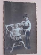 Gedenkenis Van Onze Kinderkens Lucien En Germaine WELKENRAEDT Dec 1925 ( Van Mieghem ) ( Zie Foto Details ) ! - Photographs