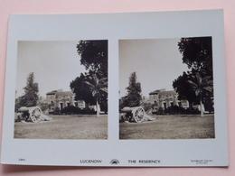 LUCKNOW The Residency ( Sunbeam Tours London ) 1291 ( Zie Foto Details ) Formaat +/- 11,5 X 8 Cm ! - Photos Stéréoscopiques