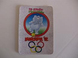 Futbol Football Futebol Elephant Elefante Barcelona`92 Spain Spanish Pocket Calendar 1992 - Formato Piccolo : 1991-00