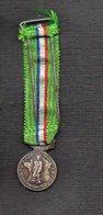 """Militaria / France / Médaille Décoration (en Réduction) """"Fédération Nationale Des Combattants Et Prisonniers De Guerre"""" - France"""