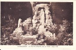 67 HERBITZHEIM / LA PETITE GROTTE DE LA PAIX / SEPT. 1938 - France