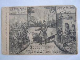 Belges! Donnez à L'armée Des Soldats Et Des Armes Cp Suppl. Bulletin 13 Ligue De La Défence Nationale Abimée Beschadigd - Patriottisch