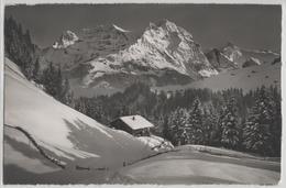 Adelboden - Im Stiegelschwand, Grosslohner Im Winter En Hiver  - Photo: E. Gyger No. 631 - BE Berne