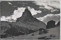 Winkelmatten Bei Zermatt Mit Matterhorn - Photo: E. Gyger No. 8383 - VS Valais