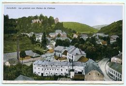 LUXEMBOURG : LAROCHETTE - VUE GENERALE AVEC RUINES DU CHATEAU - Larochette