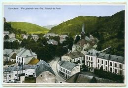 LUXEMBOURG : LAROCHETTE - VUE GENERALE AVEC GRAND HOTEL DE LA POSTE - Larochette
