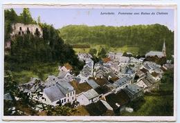 LUXEMBOURG : LAROCHETTE - PANORAMA AVEC RUINES DU CHATEAU - Larochette