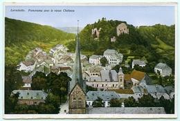 LUXEMBOURG : LAROCHETTE - PANORAMA AVEC LE VIEUX CHATEAU - Larochette