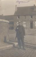 Rixensart , Photocarte D'un Soldat Allemand à Rixensart  . UNIQUE - Rixensart