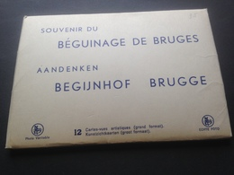 BRUGGE - SOUVENIR DU BEGUINAGE - SET 12 CARTES - Belgien