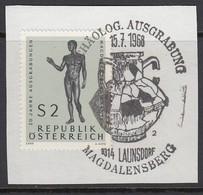 ÖSTERREICH 1968 - MiNr: 1268 SStmp. Archäologische Ausgrabungen Magdalensberg Used - Archäologie