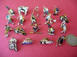 """Collection De 19 Pin's """"from USA"""" Sur Tous Les Sports Belle Qualité - Badges"""