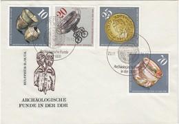 DDR 1976 - Beleg Mit ET-SStmp. Und Sperrwert - Archäologie