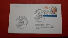 Le Vatican Enveloppe SS Juan Paul II - Brieven En Documenten