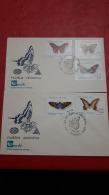 Argntina FDC Des Papillons - Vlinders