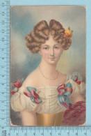 CPA Voyagé 1906 - Augusta Princess Of Liegnitz, épouse Du Roi Frédéric-Guillaume III De Prusse - + Timbre US 2¢ - Femmes Célèbres