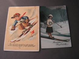 Kinder Mit Ski - Portraits