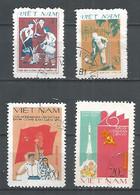 Vietnam 1981  Used Stamps , 2 Sets Mi.1153-54 , 1187-8 - Viêt-Nam
