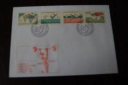 FDC Liechtenstein 1988  Mi. 947 - 50   Olympische Sommerspiele Seoul - FDC