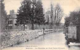 78 - MAULE : La Mauldre Au Pont Saint Vincent - CPA - Yvelines - Maule