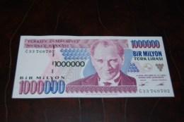 1995 Türkei 1,000,000  Lira  / 7. Emisyon 1. Tertip Serie : C  / UNC - Turquie