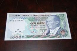 1993 Türkei 10,000  Lira  / 7. Emisyon 4. Tertip Serie : I  / UNC - Turquie