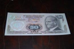 1983  Türkei 50 Lira  / 6. Emisyon 2. Tertip Serie : I / UNC - Turquie