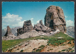 65570/ CORTINA, Le Cinque Torri, Dolomiti - Italië