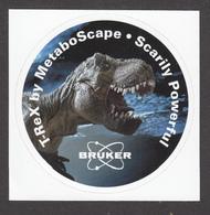 2018, Autocollant, Sticker, Dinosaure, Dinosaur, T-Rex, Publicité, Publicity, Tyrannosaure Rex, Tyrannosaurus Rex - Andere Sammlungen