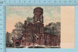 CPA Voyagé 1909 - Presbiterian Church Orillia Ontario, H. Cooke & Co.  - Timbre CND #89 - Non Classés