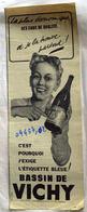 """{04457,02} Publicité """" Vichy """" Extraite Du Paris Match N° 170.   """" En Baisse """" - Reclame"""