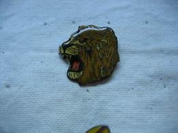 Pin's Portrait D'un Lion - Animaux