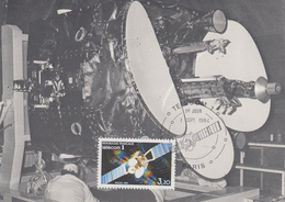 Carte Maximum  1er  Jour    FRANCE     TELECOM 1      PARIS   1984 - Cartes-Maximum