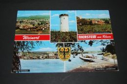 Weinort Nierstein  An Rhein - Mehrbildkarte Gelaufen 1979 - Nierstein
