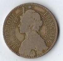Monnaie République Française Colonie De La Martinique Bon Pour 1 Franc 1897 - Autres