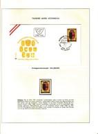 """Lotto SINGOLO (SFUSO+FDC) AUSTRIA """"976-1976-1000 ANNI NASCITA DELL'AUSTRIA """"pg55 - Collections"""