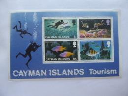 CAYMAN ISLANDS SG 0434 TOURISM MINT - Iles Caïmans
